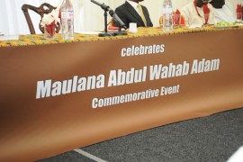 Maulana Abdul Wahab Adam Commemorative Event