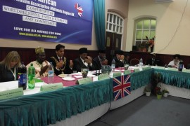 Welcome Address at Midlands Region Conference of World Religions